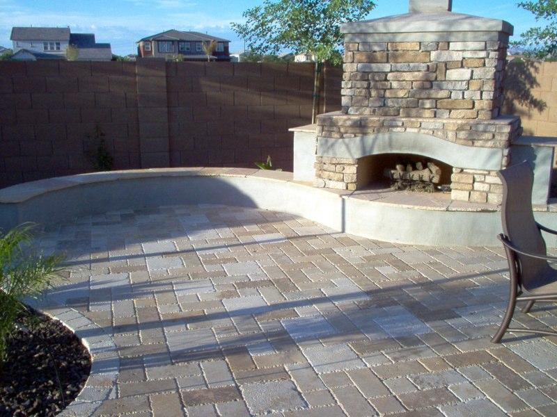 Firepits & Fireplaces E L M Landscaping & Design Inc