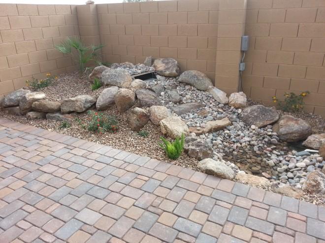 Landscaping designs pictures arizona backyard landscaping for Landscaping rock queen creek az