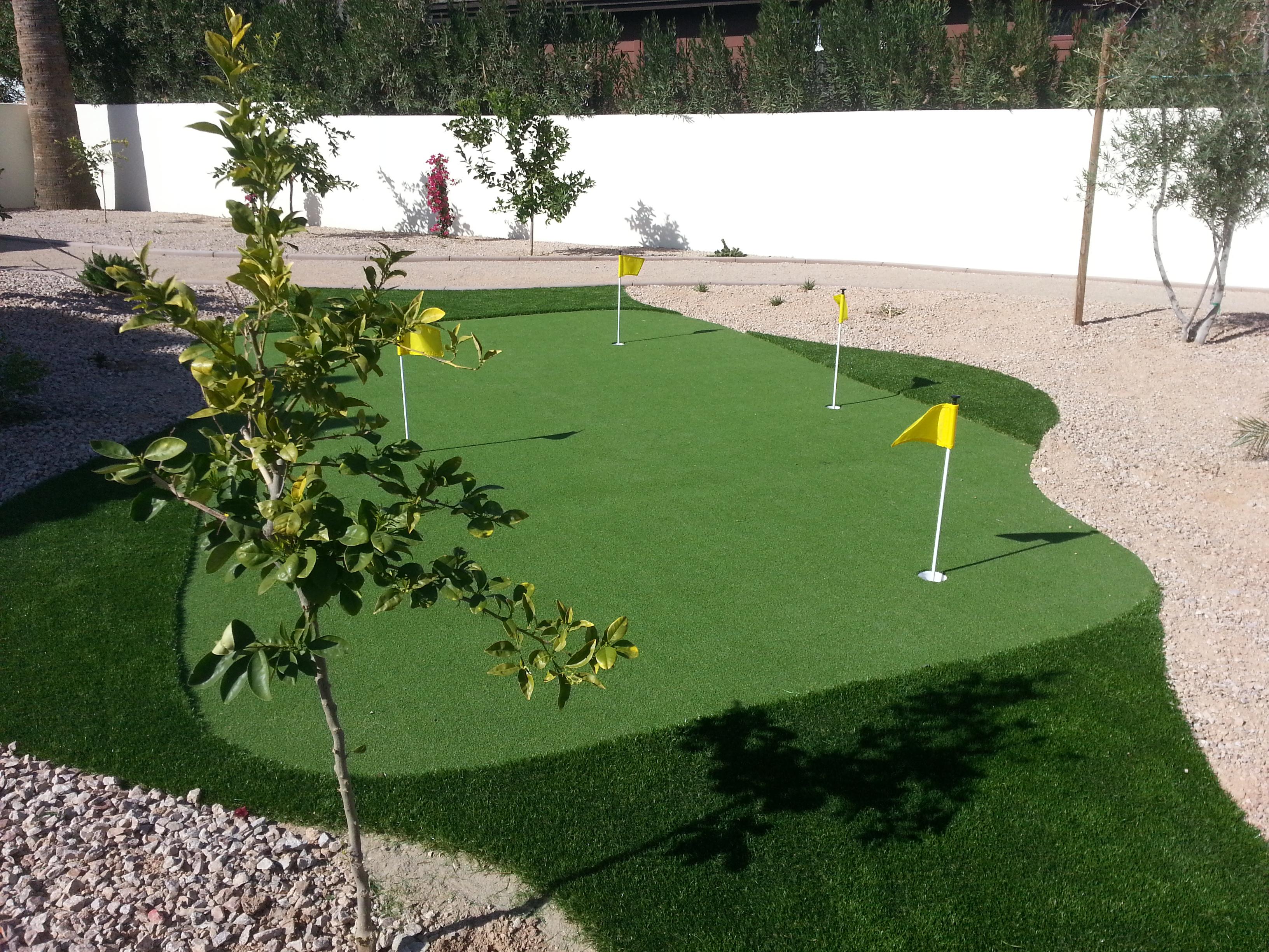 Artificial turf e l m landscaping design inc for Landscaping rock queen creek az