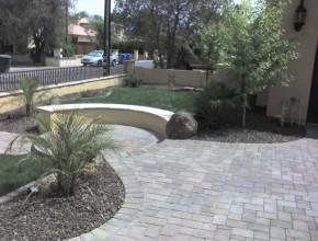Landscaping Portfolios Pavers Patios Front Yard