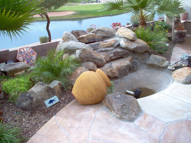 Water Features E L M Landscaping Design Inc