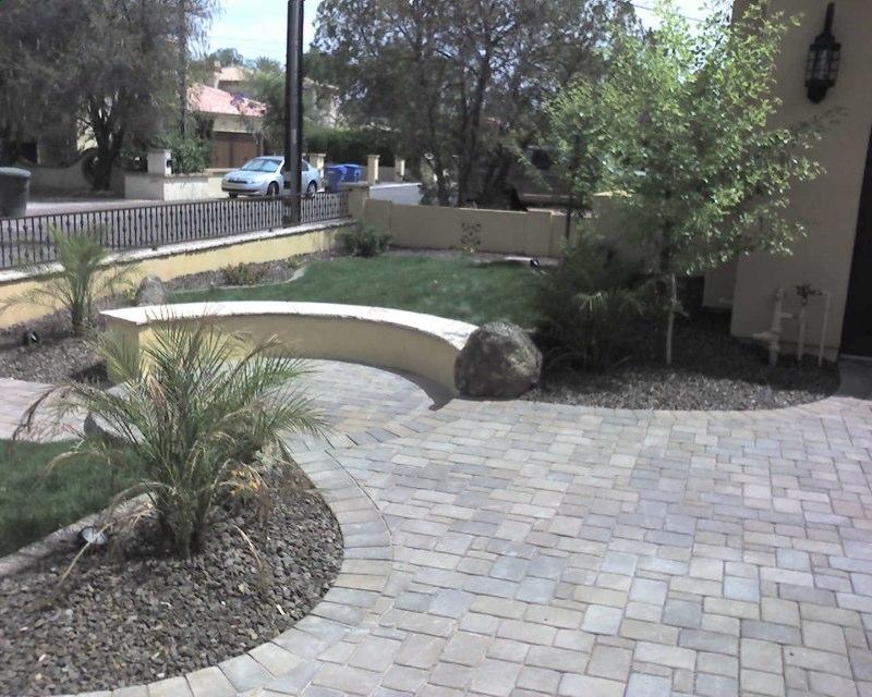 Concrete Pavers E L M Landscaping Amp Design Inc